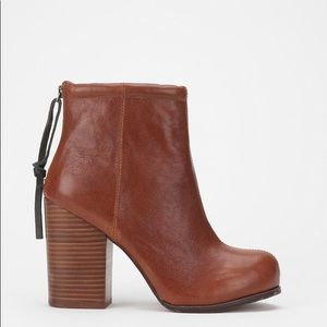 Jeffery Campbell Leather Rumble Booties